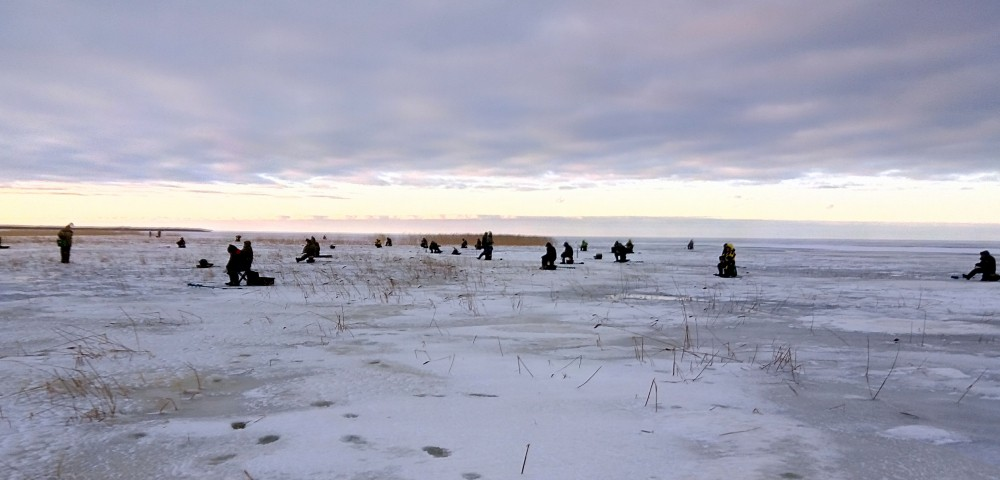 Зимняя рыбалка на Ладоге